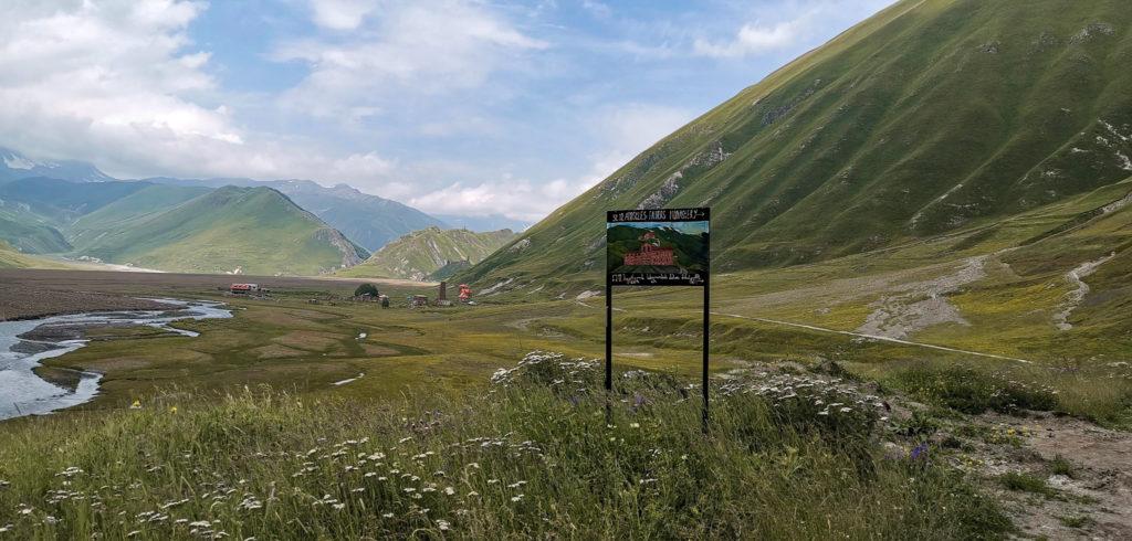 Na horyzoncie miejscowość Abano