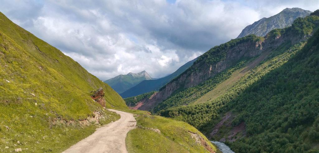 Dolina Truso - Początek trasy