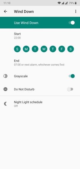 Praca zdalna w podróży - organizacja, tryb Wind Down w Androidzie