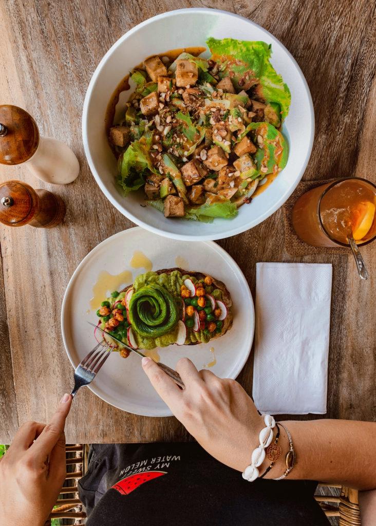 Gdzie dobrze zjeść w Canggu - The Avocado Factory