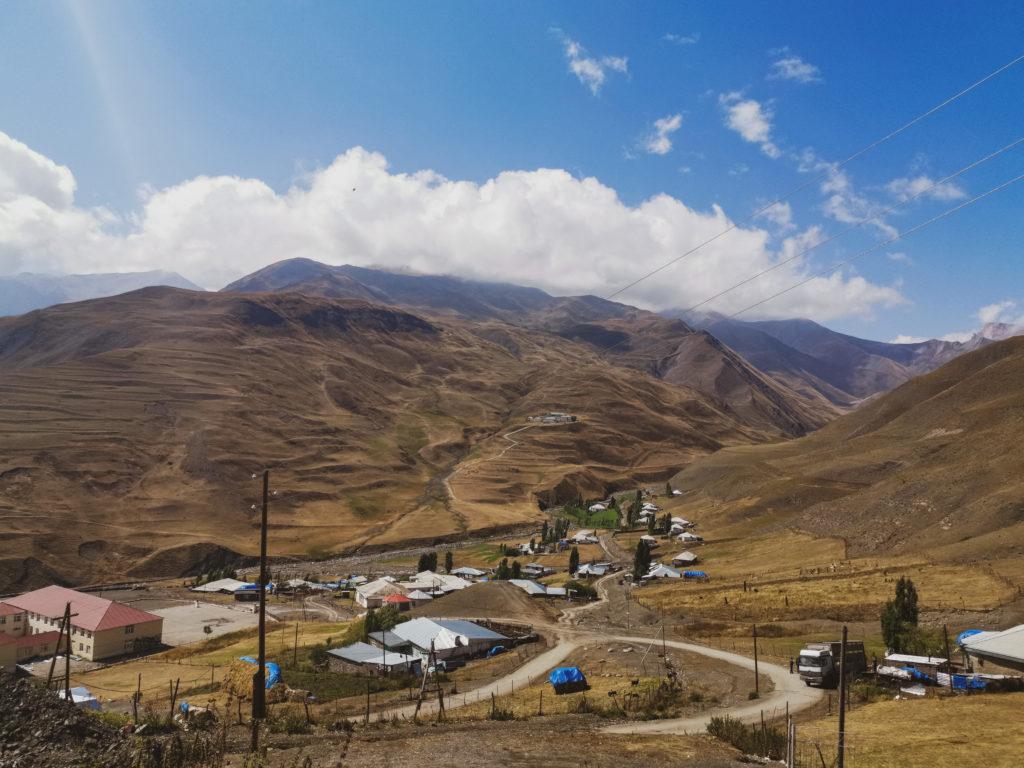 Wynajem samochodu w Azerbejdżanie - miejscowość Xinaliq
