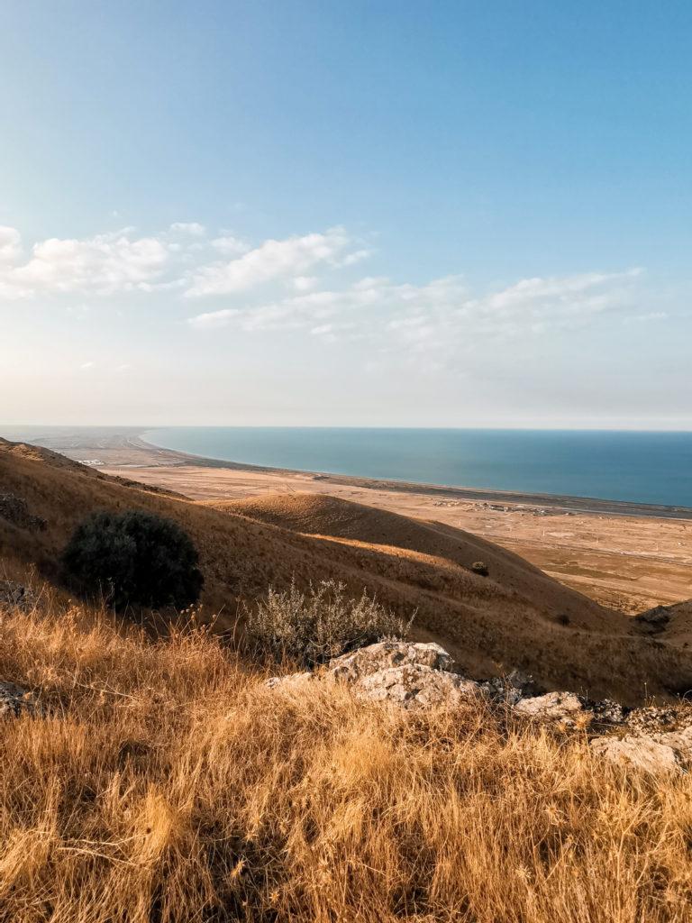 Widok na Morze Kaspijskie