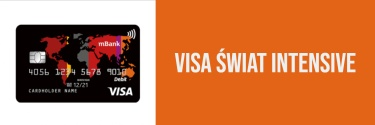 Karta wielowalutowa Visa Świat Intensive - zamów w promocji!
