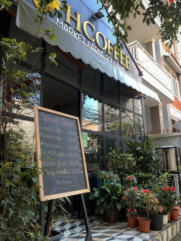 Kawa w Da Nang - kawiarnia H Coffee