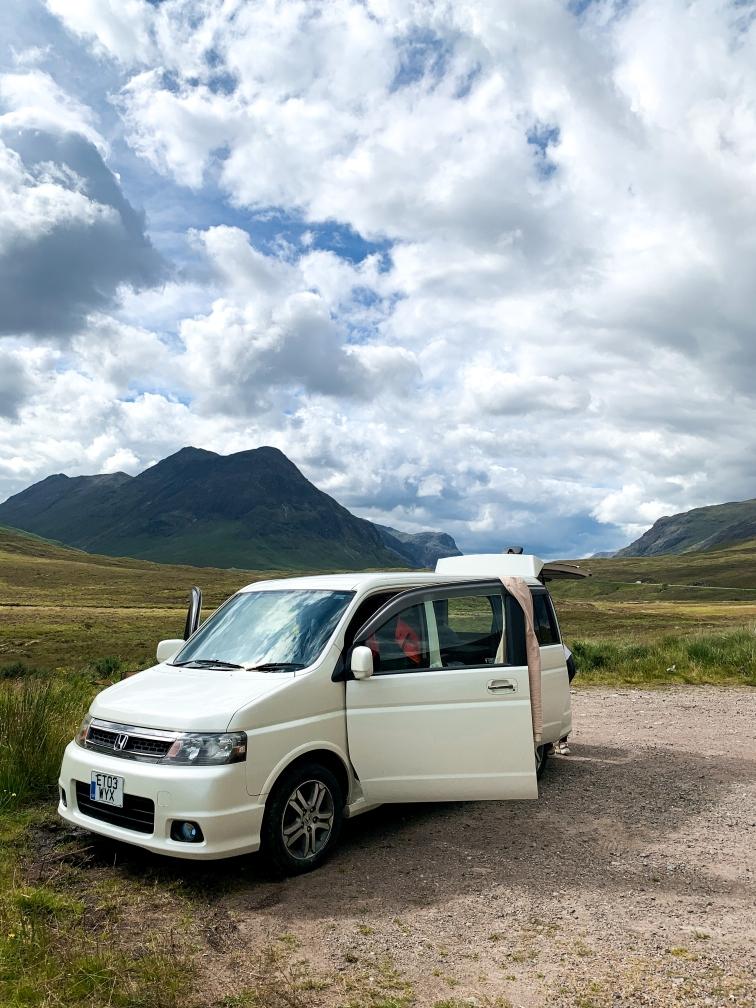 Jazda samochodem w Szkocji