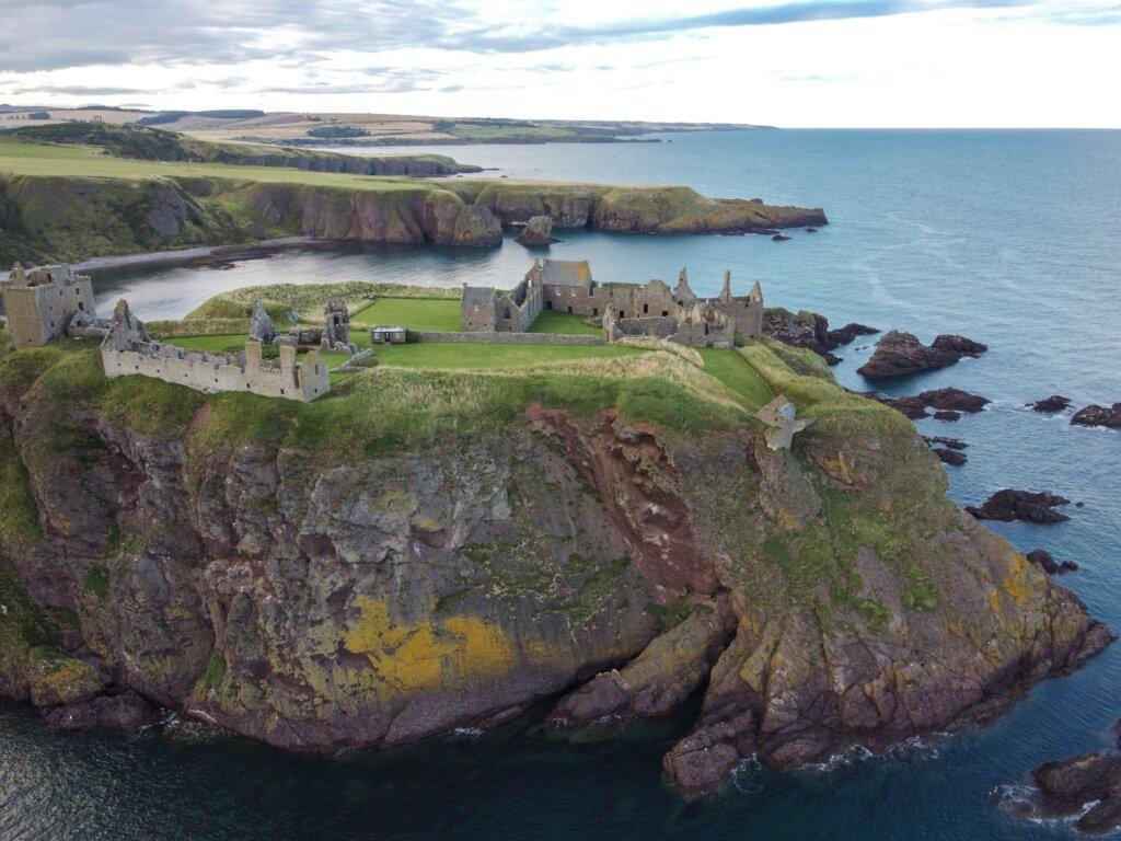 Road trip w Szkocji - Dunnottar Castle