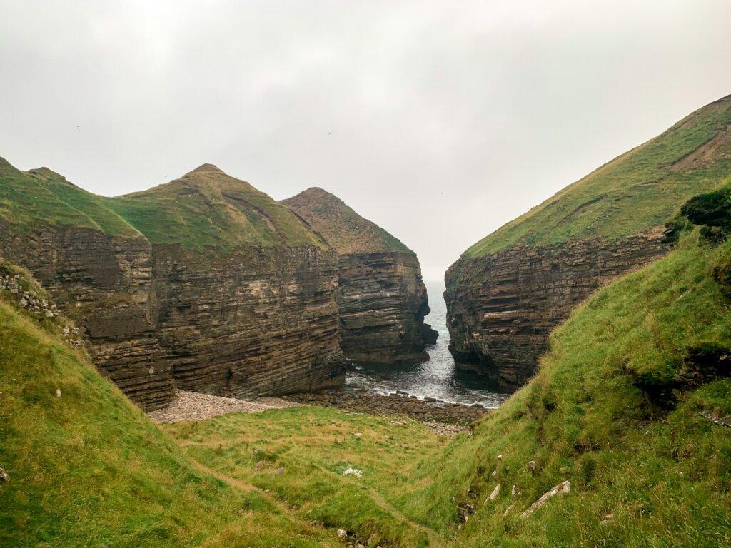 Road trip w Szkocji - Puffin Cove